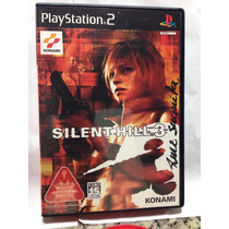 Cd De Play 2 Original Silent Hill 3 ( Audio Em Ingles )