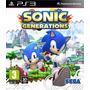 Jogo Ps3 Sonic Generations Novo Lacrado Pronta Entrega