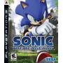 Sonic The Hedgehog Ps3 Lacrado De Fábrica Envio Rápido