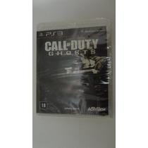 Call Of Duty Ghosts Para Ps3 Novo E Lacrado