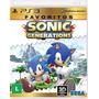 Sonic Generation Ps3 - Sedex A Partir De R$ 7,00