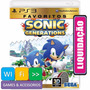 Sonic Generations Playstation 3 Ps3 Pronta Entrega Lacrado