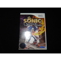 Jogo - Wii Sonic And The Secret Rings