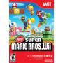 New Super Mario Bros Wii Americano Lacrado, Envio Imediato