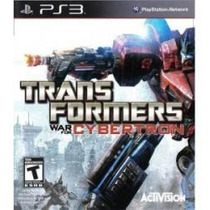 Transformers - War For Cybertron Jogo Para Playstation 3