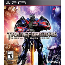 Transformers Rise Of The Dark Spark Pré-venda 24/6 Ps3 + Dlc