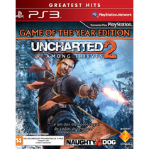 Uncharted 2: Among Thieves - Ps3 (novo E Lacrado)