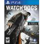 Watch Dogs Ps4 Dublado Em Disco Semi Novo