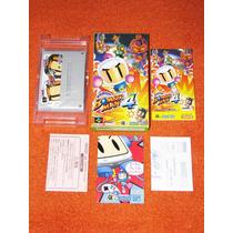 Super Bomberman 4 - Em Inglês. Para Colecionadores. Completo