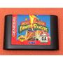Cartucho Power Rangers Mega Drive Genesis Original Americano