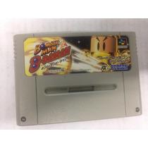 Fita De Super Nintendo Original Bomberman B Daman
