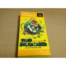 Super Mario World Super Famicom Completa Para Colecionadores