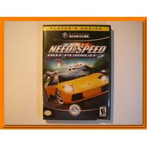 Gamecube Need For Speed Hot Pursuit 2 Completo Ótimo Estado