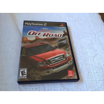 Ford Racing Off Road (sony Playstation 2, 2008) Completo