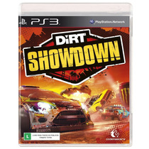 Dirt Showdown Corrida E Rally Ps3 Jogo Novo Original Lacrado