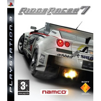 Ridge Racer 7 - Ps3 Original Novo!