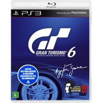 Gran Turismo 6 - Ps3 - Protuguês - Original Lacrado - S. G.