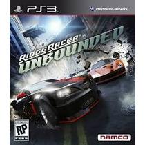 Jogo De Ps3 Ridge Racer Unbounded