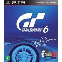 Gran Turismo 6 Ps3 Português Com Dlc Ayrton Senna Novo