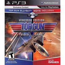 Top Gun Wingman Edition - Jogo Ps3 Mídia Física