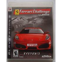 Playstation 3 Ps3 - Ferrari Challenge Trofeo Pirelli