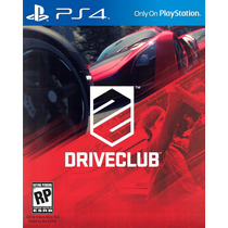 Driveclub Ps4 Lançamento 07/10 Mídia Digital