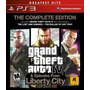 Gta Grand Theft Auto Iv Liberty City Ps3 Original Ac Trocas