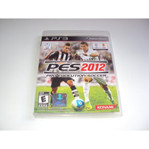 Pes 2012 Pro Evolution Soccer Original Completo Playstation3