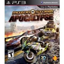 Jogo Americano Lacrado Sony Motorstorm Apocalypse 3d Pra Ps3