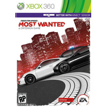 Need For Speed Most Wanted Xbox Nfs Most Wanted Pron.entrega