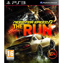 Need For Speed : The Run - Ps3 - R1 - Lacrado