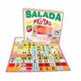 Jogo Salada De Frutas - Em Mdf -25 Peças,novo,pedagógico