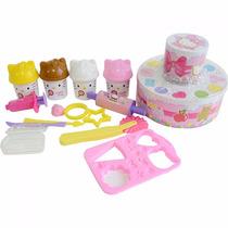 Massinha Bolo Festa Hello Kitty - Sunny