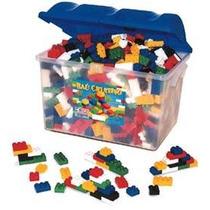 Baú Criativo 1.000 Pçs Tipo Lego Baú E Peças Plásticas - Bc