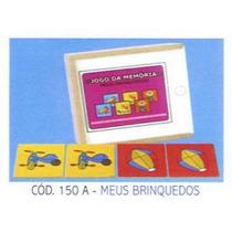 Memória De Meus Brinquedos Em Mdf - 150a/100abm