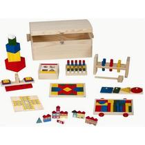Conjunto Brinquedos Pedagógicos Caixa Papelão - 001a/200abm