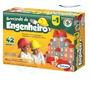 Jogo Brinquedo Barato - Educativo Brincando Engenheiro I