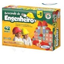 Jogo Brinquedo Brincando Engenheiro Xalingo I 52754