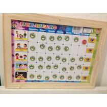 Painel Magnético Educativo (super Nanny) - Bate Bumbo