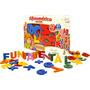 Alfanumérico Em Eva - Brinquedo Educativo