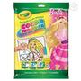 Crayola Livro Para Colorir Barbie - Lote Com 11 Unidades