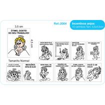 Carimbo Pedagógico Psico Avaliação Incentivos Anjo - 10 Unid