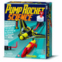 Kit Lança Foguetes E Carrinhos - Pump Rocket Science - 4m