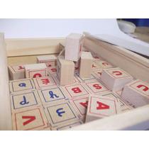 Brincando Com Letras - Em Madeira E Mdf 45 Peças