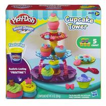 Massinha Play Doh Torre De Cupcakes Hasbro