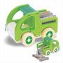 Brinquedo Madeira- Carrinho- Caminhão