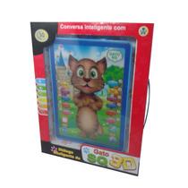 Tablet Gato Tom Falante Para Crianças Pronta Entrega+brinde