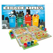 Jogo Educativo Cidade Limpa Nina Brinquedos Educativos