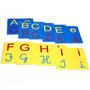 Varal De Letras Alfabeto 4 Em 1 Em Eva Carlu Educativo