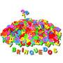 Letrinhas Coloridas Em Eva 550 Letras Brinquedos Educativos